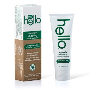 Hello Naturally Whitening Toothpaste Fluoride