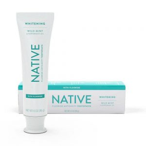 Native Whitening Toothpaste with Fluoride