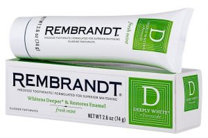 Rembrandt Deeply White Toothpaste Peroxide