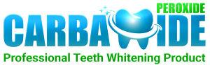 Carbamide Peroxide Teeth Whitening Logo